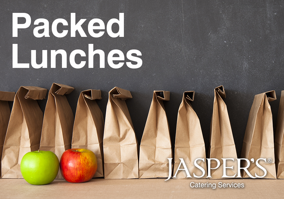 Jasper's packed lunches