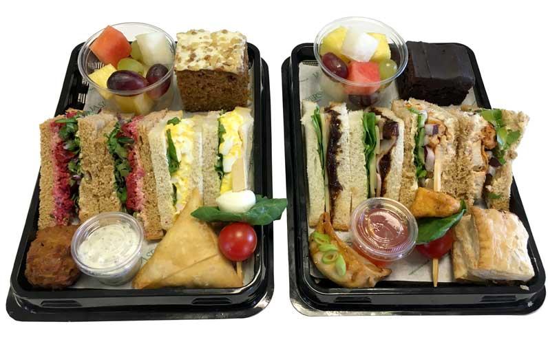 Individual Buffet Platters