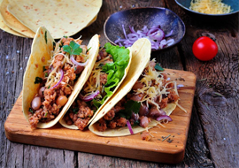 NEW! Taco & Burrito Bar