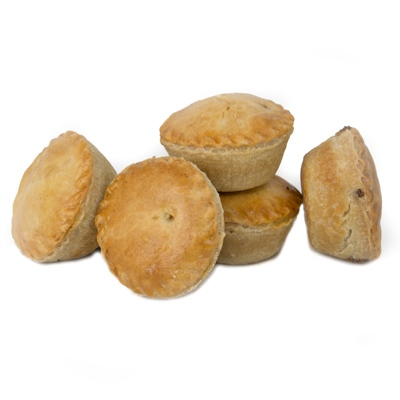 Jasper's Mini Mince & Onion Pie