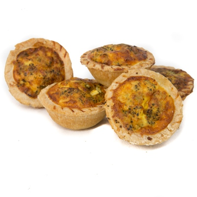 Jasper's (V) Mini Broccoli Quiche