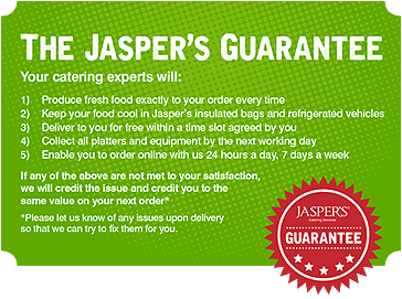 Jasper's Catering Guarantee